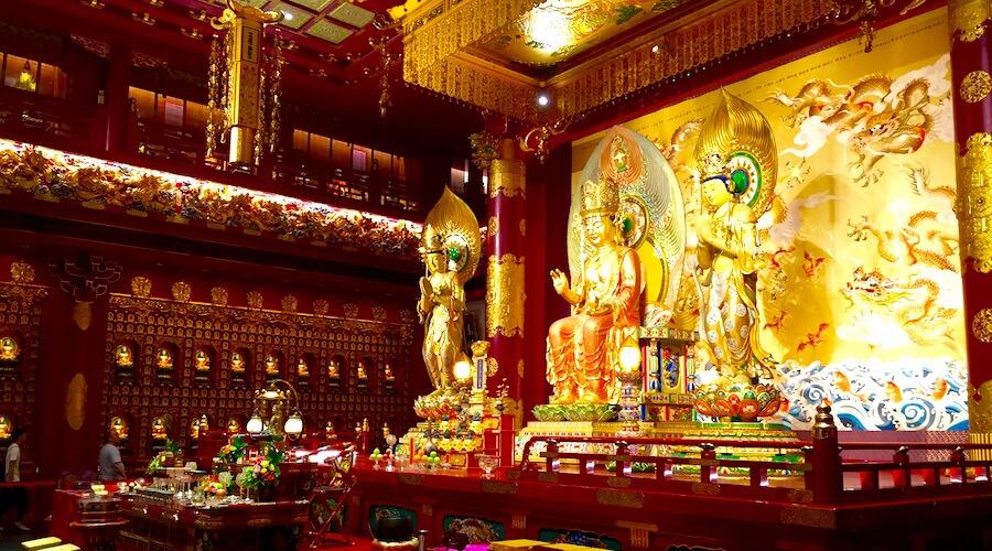 Buddha Tooth Temple Singapur