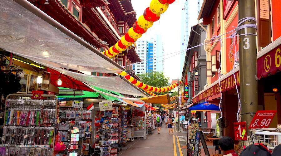 Chinatown Märkte Singapur