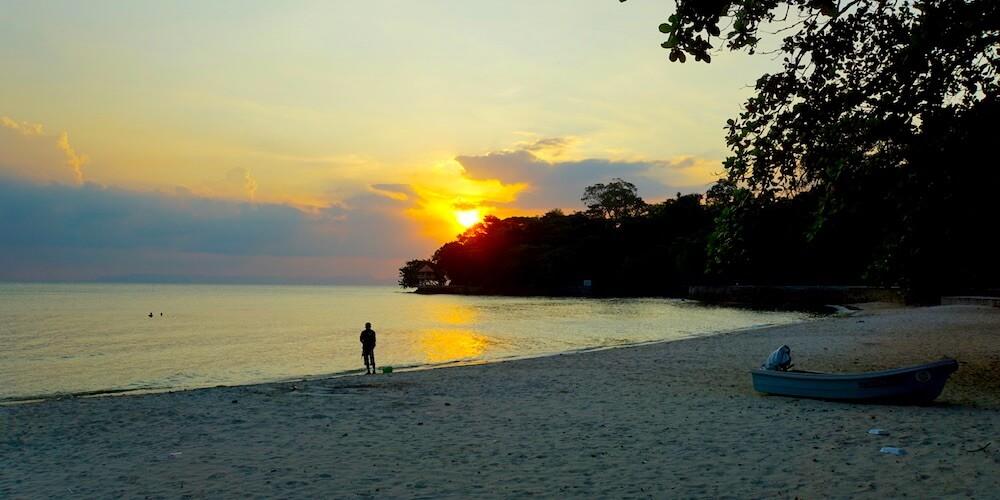 Kep Beach Kambodscha