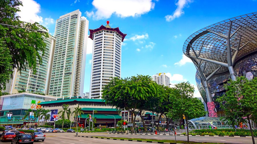 Orchard Road Singapur