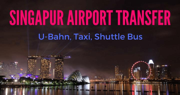 Singapur Airport Trasnsfer