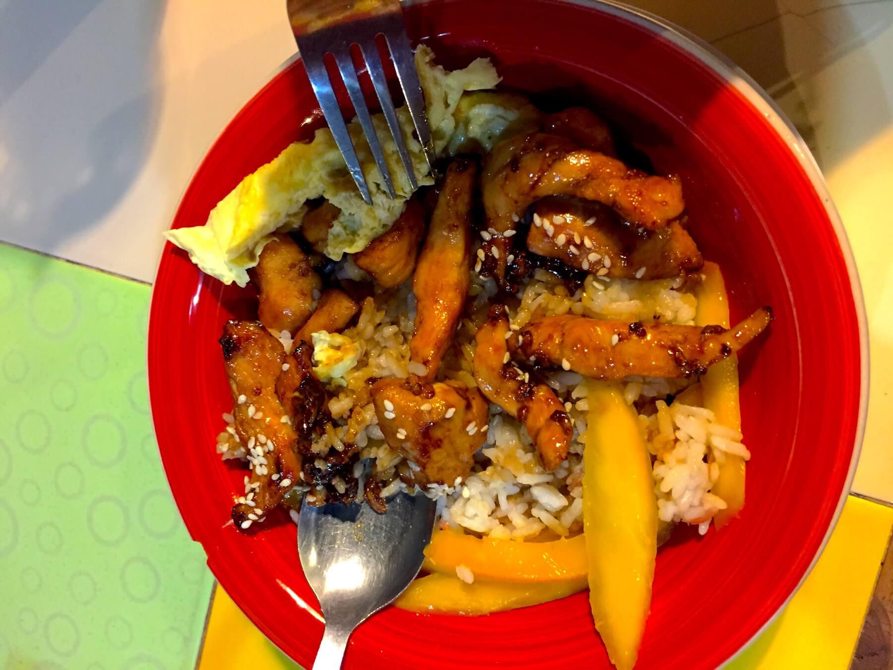 chicken-and-mango-philippinen