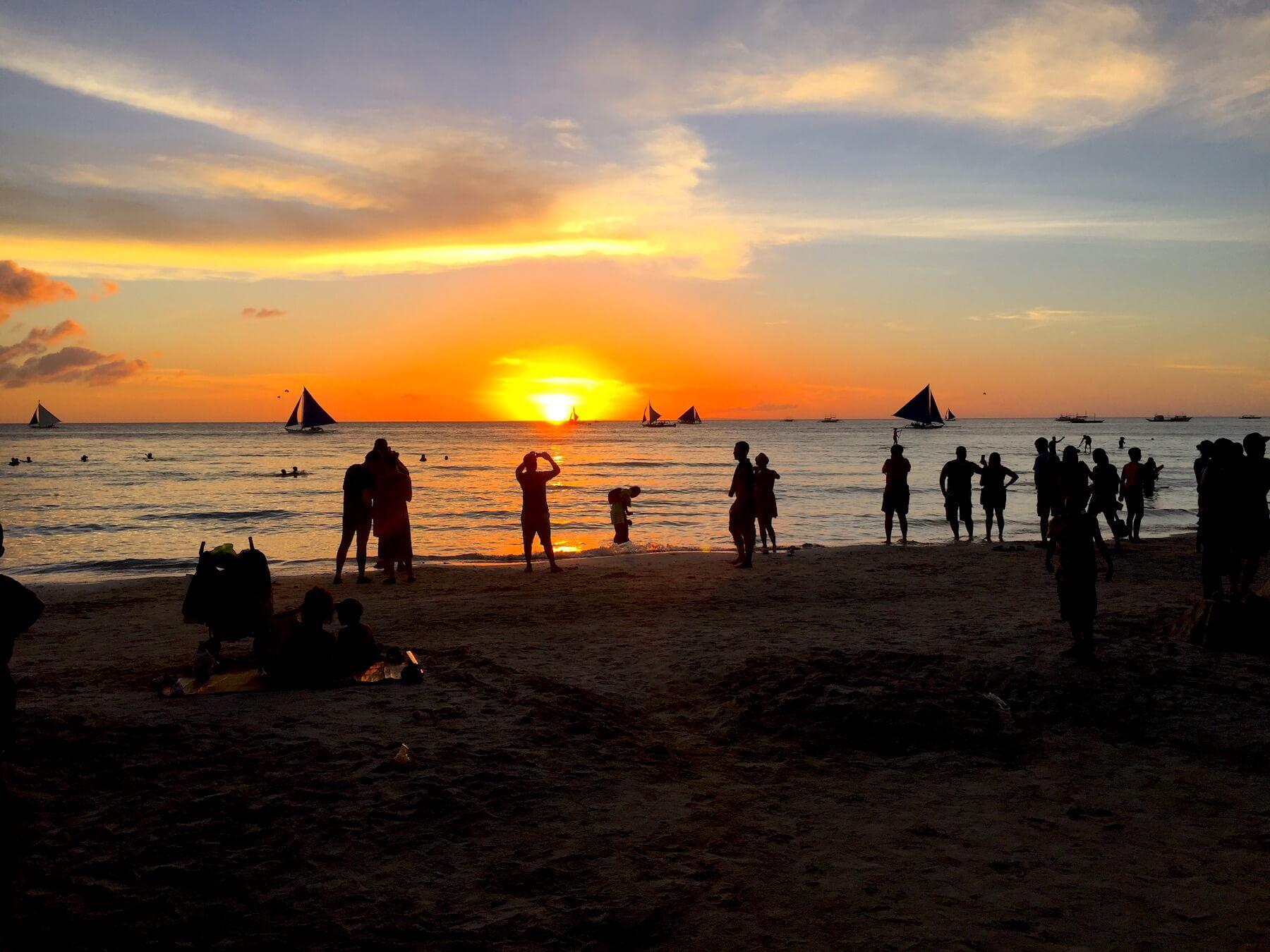 sunset-boracay-white-sand-beach