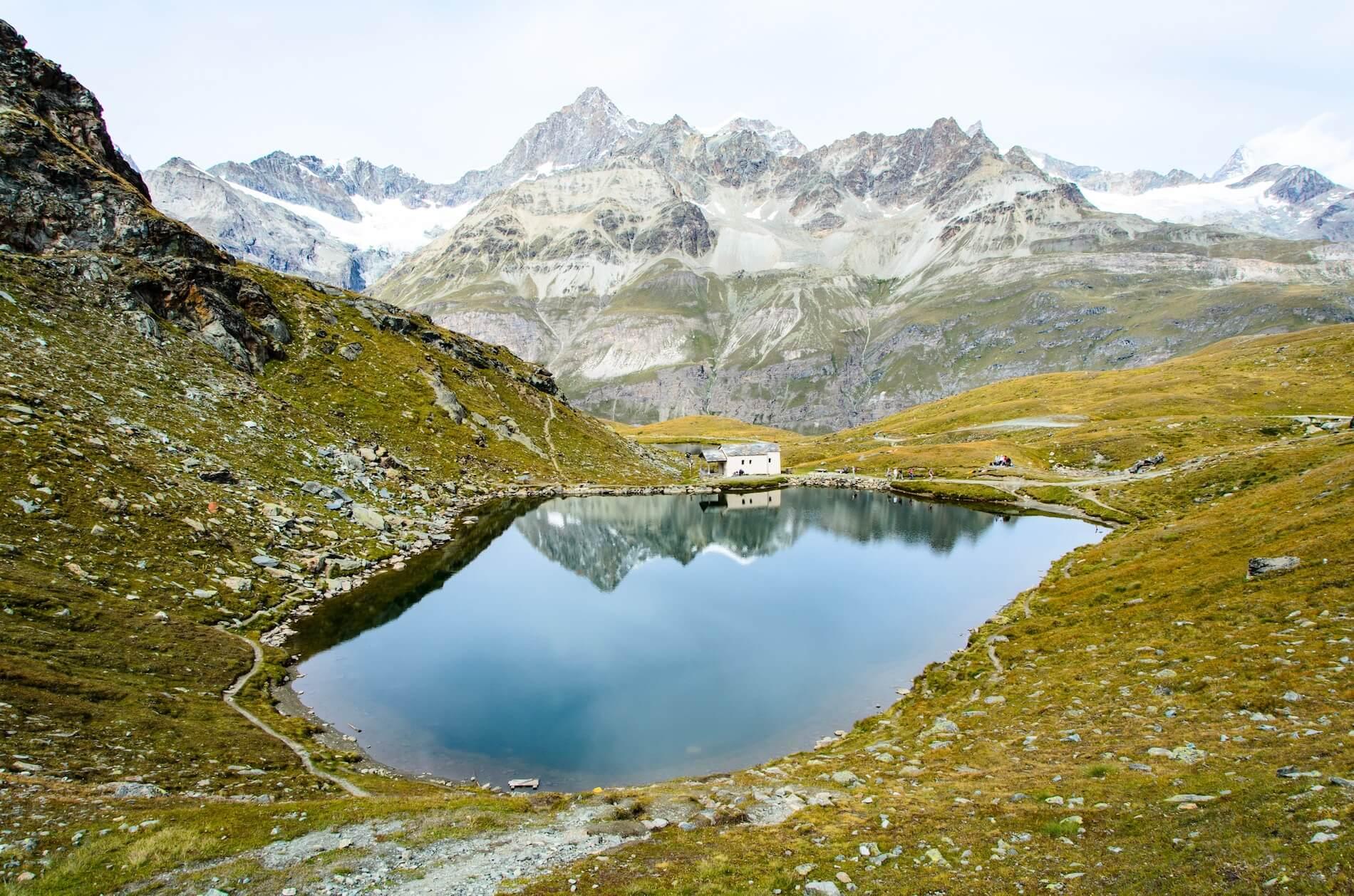 Berglandschaften in der Schweiz