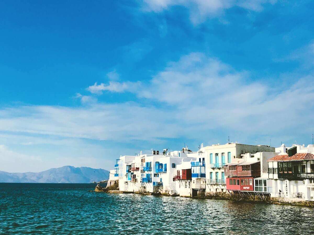 Hafen Mykonos